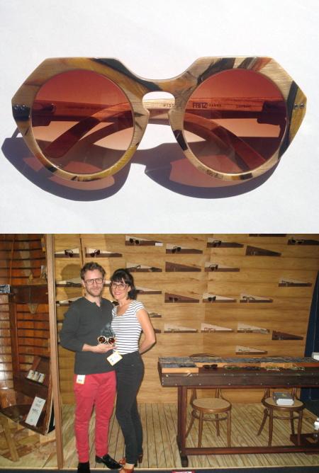 Fritz Frames - Lorikeet Sunglasses ODMA Award