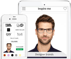 Specsavers Eyewear Try-on App
