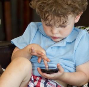 digital screen toddler