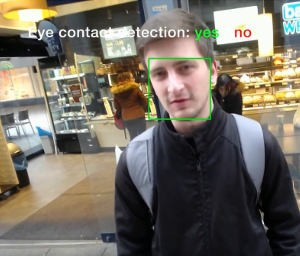 Eye Contact Detection