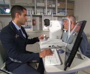 eye scanning tech