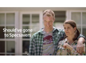 specsavers in-ad eye test video