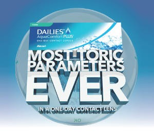 alcon dailies toric more parameters