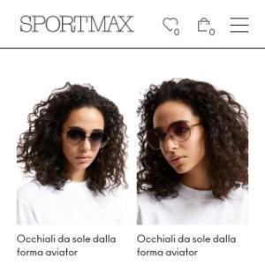 Sportmax eyewear
