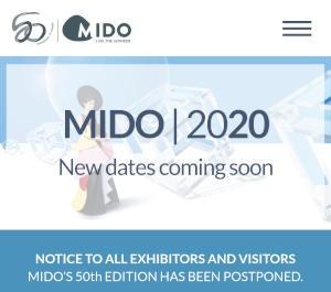 Mido postponed