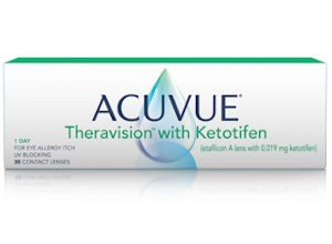 ACUVUE Theravision with Ketotifen