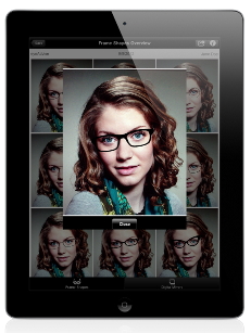eyeAdvise iPad Dispensing App